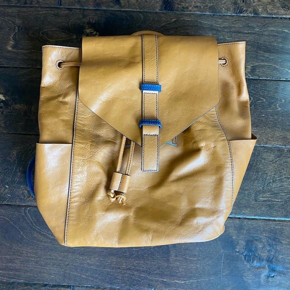 Vera Bradley Big Sky Backpack in Tan